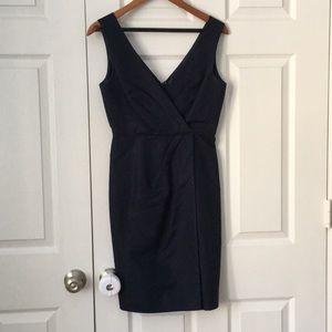 JCrew Navy Formal Dress, V-neck